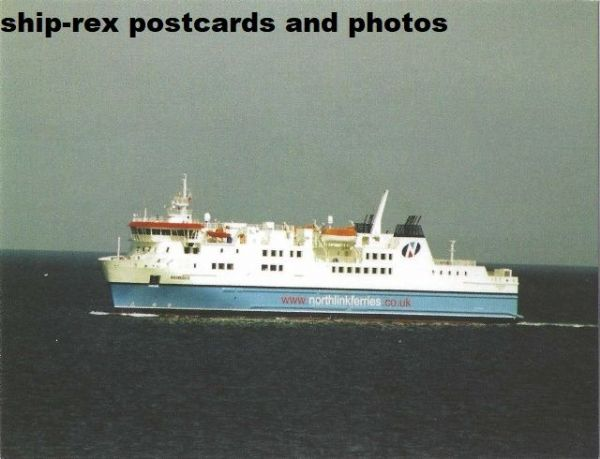 HAMNAVOE (Northlink Ferries) postcard